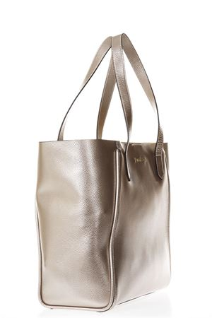 GOLD LEATHER BEIGE INNER SHOPPING BAG SS 2018 HOGAN | 2 | KBW00WA3400IIM186Z