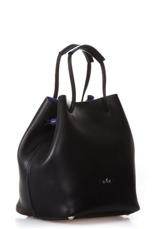 BLACK LEATHER BUCKET BAG SS 2018 HOGAN | 2 | KBW00WK0300HVD187Z