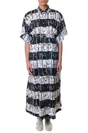 LONG FLARED COTTON DRESS SS 2018 KENZO | 32 | F851RO0455A2UNI01