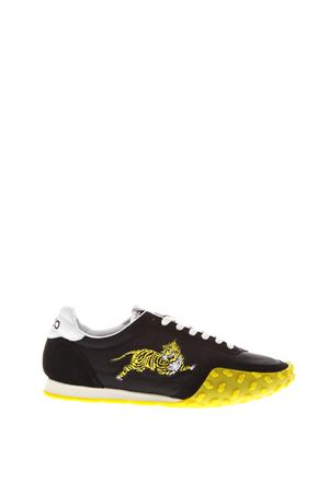 YELLOW & BLACK MOVE SNEAKERS IN SUEDE & NYLON SS 2018 KENZO | 55 | F851SN122F92UNI99