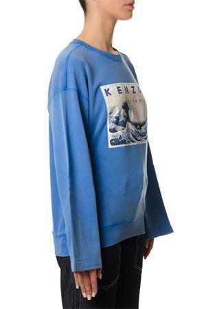 BLUE KENZO KNITWEAR WITH KIMONO SLEEVES SS 2018 KENZO | 16 | F851SW731953UNI75