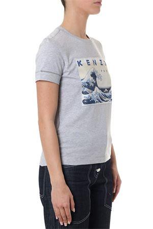 T-SHIRT KENZO GRIGIA IN COTONE PE 2018 KENZO | 15 | F851TS749995UNI93