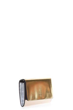 GOLD & ROSE METALLIC LEATHER CLUTCH SS 2018 LANVIN | 2 | LW-SLGM05VELAB850