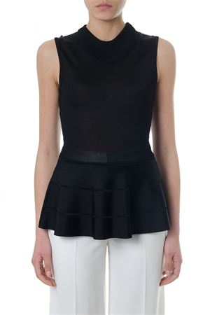 TOP IN CREPE COLORE NERO PE 2018 LANVIN | 13 | RW-TO656MMB1210