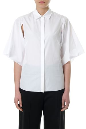 WHITE COTTON CUT-OUT SHIRT SS 2018 LANVIN | 9 | RWTO664U3698E1800