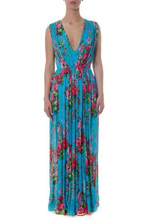 FLORAL VISCOSE FOLDED DRESS SS 2018 LEITMOTIV | 32 | AHERUNIA02