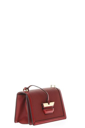 BARCELONA SMALL RED BAG IN LEATHER SS 2018 LOEWE | 2 | 30212P3BARCELONA7695