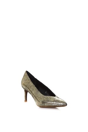 METALLIC GOLD PUMPS IN LEATHER SS 2018 LOLA CRUZ | 68 | 013Z15BK-V18METALIZADAORO