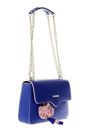 BLUE ECO LEATHER SHOULDER BAG SS 2018 LOVE MOSCHINO | 2 | JC4079PP15LJ0750