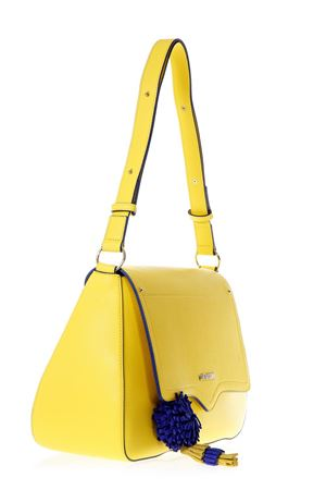 YELLOW FAUX LEATHER SHOULDER BAG SS 2018 LOVE MOSCHINO | 2 | JC4081PP15LJ0400