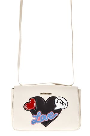 BORSA DA DONNA IN ECOPELLE CON STAMPE MULTICOLORE IN RILIEVO PE 2018 LOVE MOSCHINO | 2 | JC4109PP15LT0110