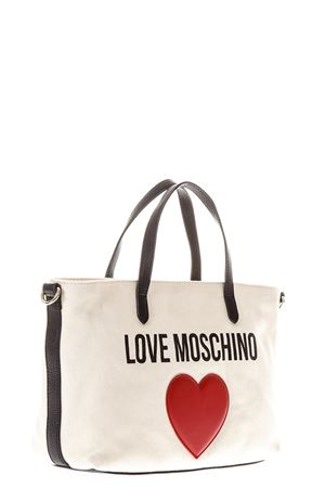 BEIGE LOVE MOSCHINO CANVAS BAG  SS 2018 LOVE MOSCHINO | 2 | JC4137PP15L3010A