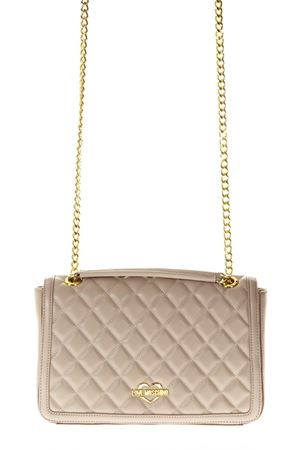 TAUPE QUILTED BAG SS 2018 LOVE MOSCHINO | 2 | JC4200PP05KA0108