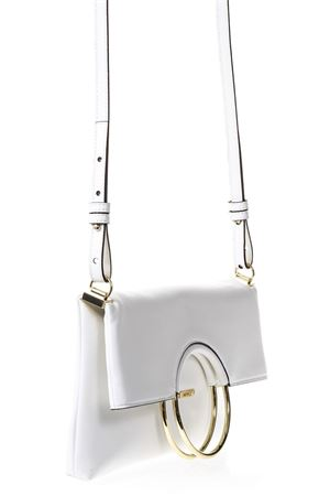 WHITE FAUX NAPPA LEATHER  FOLDING BAG SS 2018 LOVE MOSCHINO | 2 | JC4352PP05K70100