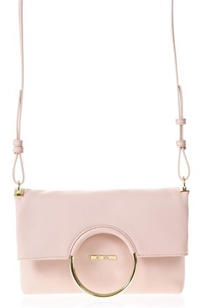 PINK FAUX NAPPA LEATHER  FOLDING BAG SS 2018 LOVE MOSCHINO | 2 | JC4352PP05K70600