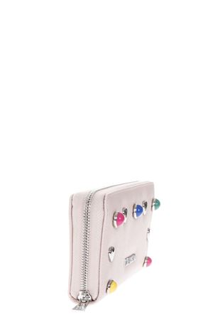 PINK ECO LEATHER WALLET WITH STUDS DETAILS SS 2018 LOVE MOSCHINO | 34 | JC5570PP05KO0600