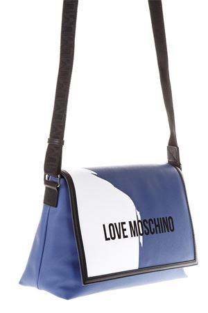 MULTICOLOR FAUX LEATHER SHOULDER BAG SS 2018 LOVE MOSCHINO | 2 | JD4709PP15F10750