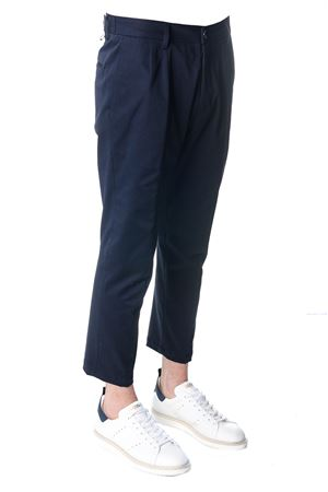OVERSIZED NAVY COTTON TROUSERS SS 2018 LOW BRAND | 8 | L1PSS1834071E044