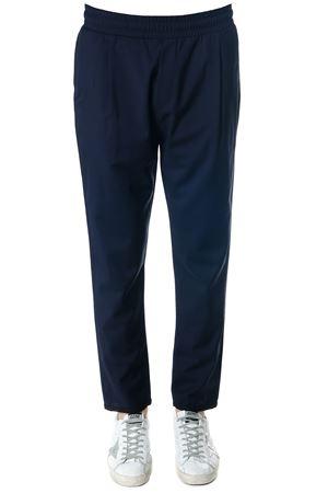 NAVY BLU COOL WOOL PANTS  SS 2018 LOW BRAND | 8 | L1PSS1834111E044