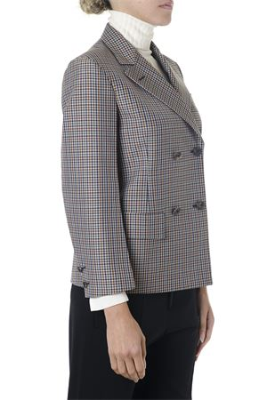 CHECKED DOUBLE BREASTED WOOL JACKET FW 2018 MAISON MARGIELA | 14 | S29BN0262S48845001F