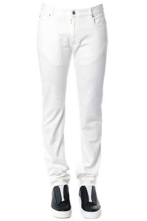 WHITE STRETCH JEANS IN COTTON SS 2018 MAISON MARGIELA | 4 | S30LA0117S30439101