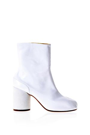 TABI WHITE LEATHER ANKLE BOOTS SS 2018 MAISON MARGIELA | 52 | S39WU0107SY1201101