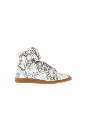 SNEAKERS FUTURE IN PELLE STAMPA DOLLAR PE 2018 MAISON MARGIELA | 55 | S47WS0181S48618961