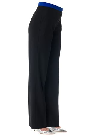 BLACK WOOL TAILORED TROUSERS SS 2018 MAISON MARGIELA | 8 | S51KA0412S45194961