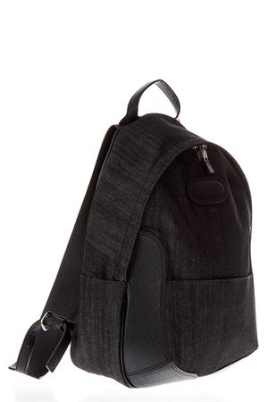 BLACK COTTON DENIM BACKPACK SS 2018 MAISON MARGIELA | 183 | S55WA0019S30618900