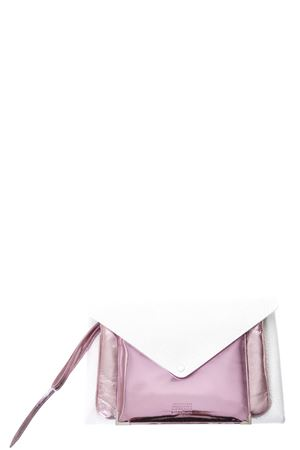 CLUSTER WHITE & FUXIA LEATHER CLUTCH SS 2018 MAISON MARGIELA | 2 | S56WF0070SY1167961
