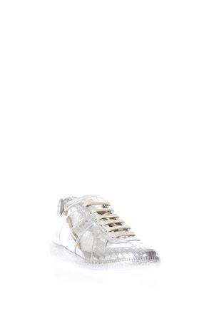 SILVER REPLICA SNEAKERS IN LEATHER SS 2018 MAISON MARGIELA | 55 | S58WS0065SY0976905