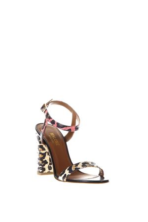 LADIDA 1 SANDALS MULTICOLOR LEOPARD STYLE SS 2018 MALONE SOULIERS | 87 | LADIDA1BEIGE
