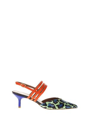 LIZA 1 MULTICOLOR SANDALS IN LEATHER SS 2018 MALONE SOULIERS | 87 | LIZA1GREEN