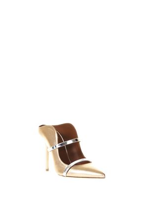 SABOT MAUREEN 70-29 ORO IN PELLE LAMINATA PE 2018 MALONE SOULIERS | 110000060 | MAUREEN1GOLD/SILVER