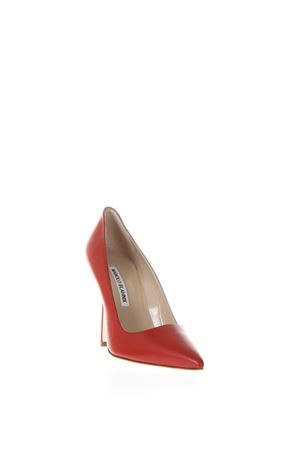DÉCOLLETÉ ROSSO IN PELLE BB PE18 MANOLO BLAHNIK | 68 | BB-PIC-TOR-CO1BCN