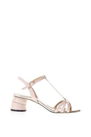 PHARD PATENT LEATHER SANDALS WITH SHAPED HEEL SS 2018 MARC ELLIS | 87 | MA3031VERNICE/NAPPAPHARD/RAME