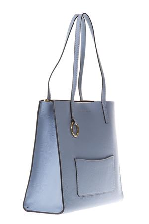 BLUE LEATHER SHOPPING BAG SS 2018 MARC JACOBS | 2 | M0012566THE BOLD458