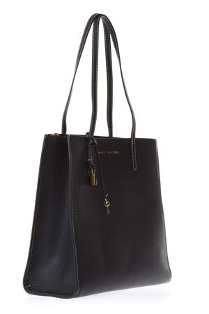 THE GRIN BLACK LEATHER SHOPPING BAG SS 2018 MARC JACOBS | 2 | M0012669THE GRIN065