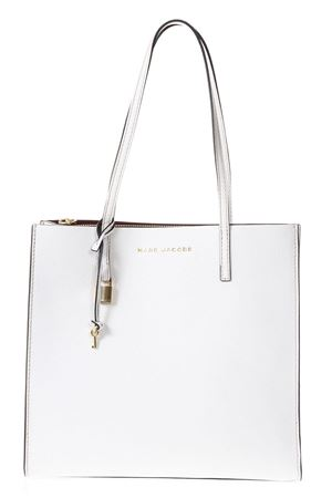 THE GRIN WHITE LEATHER SHOPPING BAG ss 2018 MARC JACOBS | 2 | M0012669THE GRIND103