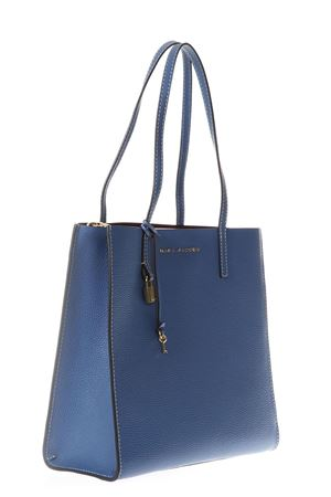 THE GRIN BLUE LEATHER SHOPPING BAG SS 2018 MARC JACOBS | 2 | M0012669THE GRIND476