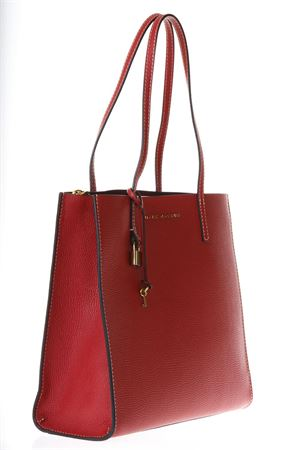 THE GRIN RED LEATHER SHOPPING BAG ss 2018 MARC JACOBS | 2 | M0012669THE GRIND600