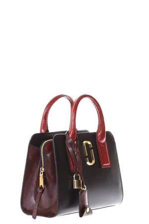 BIG LITTLE SHOT BLACK LEATHER HAND BAG ss 2018 MARC JACOBS | 2 | M0013267SHOT014