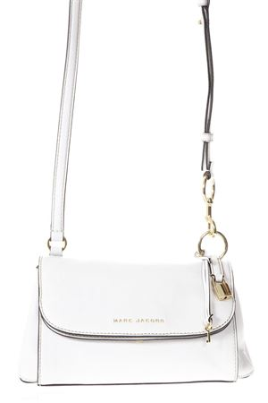 THE BOHO GRIND WHITE LEATHER SHOULDER BAG SS 2018 MARC JACOBS | 2 | M0013405BOHO103