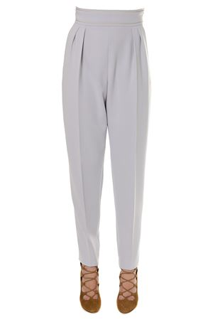 Ice grey Cady pants with a gold string SS 2018 MAX MARA | 8 | 81310187000VETTURA008