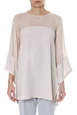 Powder viscose blouse in georgette SS 2018 MAX MARA | 13 | 81910187000CALENDA005
