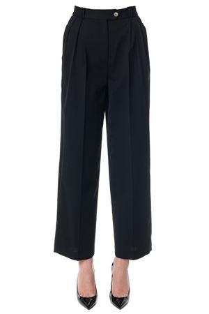 Pantaloni neri a vita alta e gamba ampia PE2018 McQ ALEXANDER MCQUEEN | 8 | 464327RKQ041000
