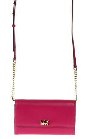 MOT FUXIA LEATHER CLUTCH SS 2018 MICHAEL MICHAEL KORS  44ceca2c8d4f1