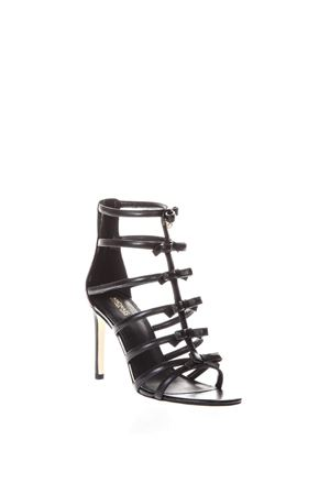 VERONICA BLACK FLAKED LEATHER SANDALS SS 2018 MICHAEL MICHAEL KORS | 87 | 40S8VRHA1LVERONICA001