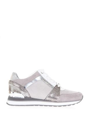 GREY NYLON & LEATHER SNEAKERS SS 2018 MICHAEL MICHAEL KORS | 55 | 43R8BIFS1EBILLIE TRAINER029