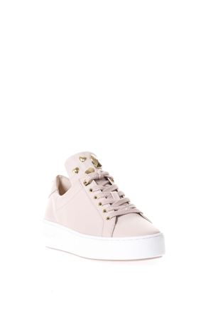 SNEAKERS IN PELLE ROSA CON BORCHIE PE 2018 MICHAEL MICHAEL KORS | 55 | 43R8MIFS1LMINDY LACE UP187